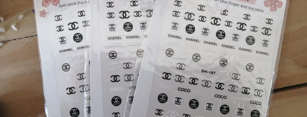 STICKERS BRANDED COCO CHANEL