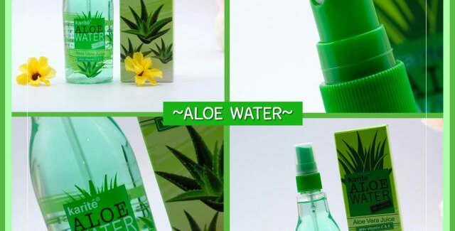 ALOE WATER - KARITE