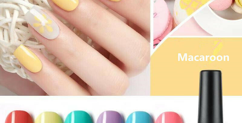 AS GEL POLISH MACAROON