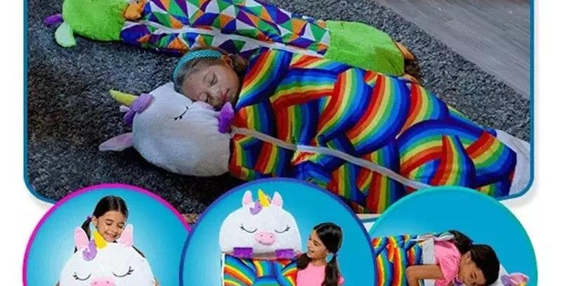 Pillow sleeping bag /Plush pillow