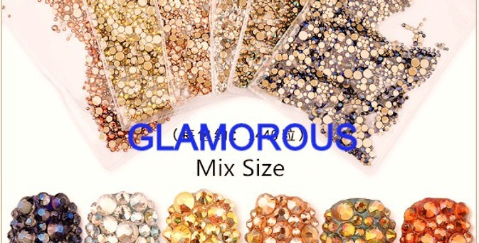 GLAMAROUS STONES FLAT BOTTOM
