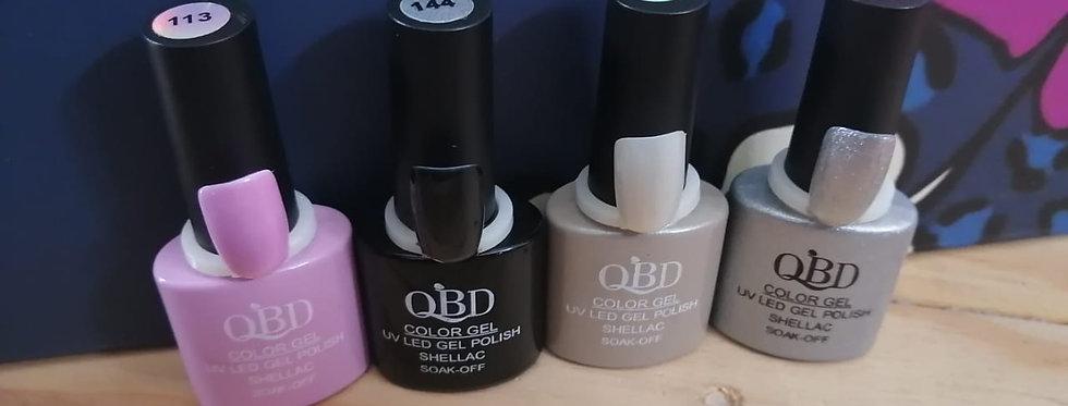 QBD GELS 10 ML SOAK OFF