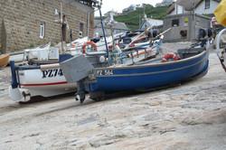 Cornish Fishing Boats at Sennen Cove