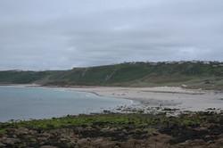 Whitesands Bay in Winter