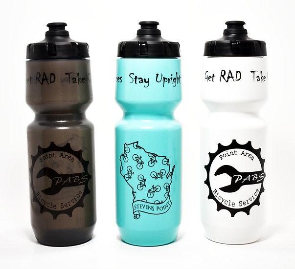 PABS Logo Wisco 26oz Purist Water Bottle