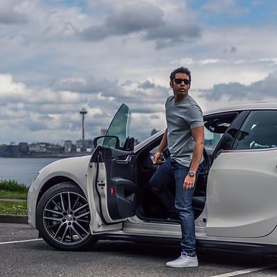 Karan's Maserati