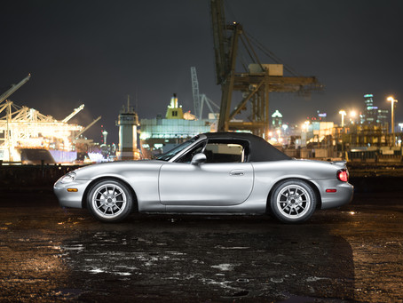 First Shoot of 2019! Paul's 2000 Mazda Miata MX5