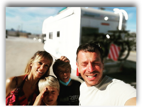 SURF & YOGA : OUR FAMILY TRIP TO PORTUGAL BY CAMPERVAN – SUMMER 2021 - Introduction & Day 1/2