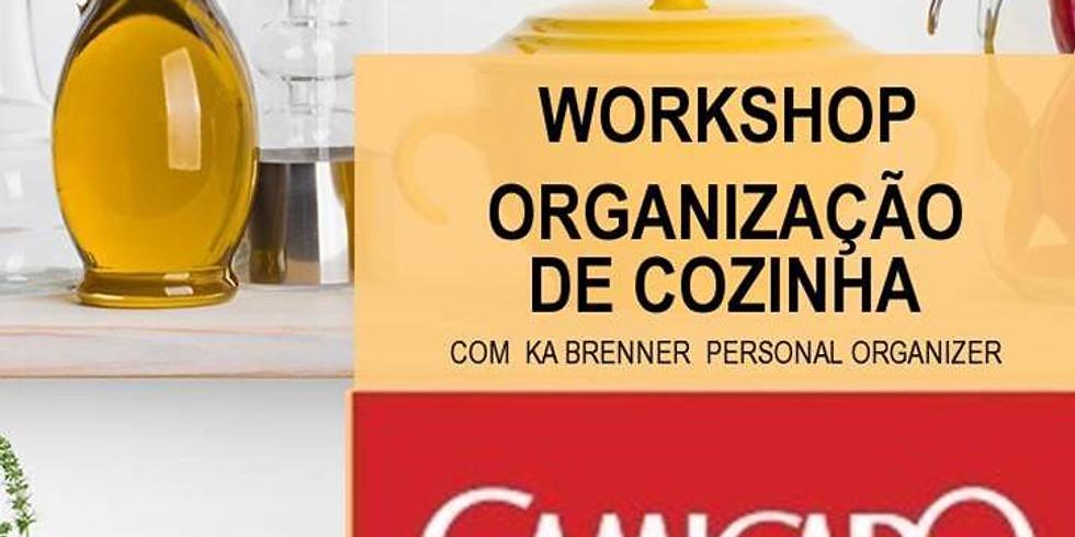 Workshop de Organização de Cozinha