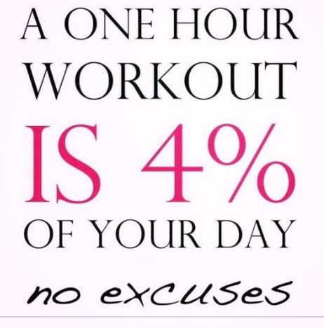 #WorkoutWednesday:  4%