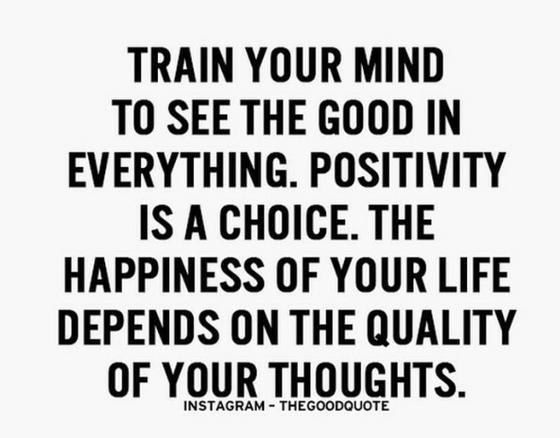 #MondayMantra: Positivity