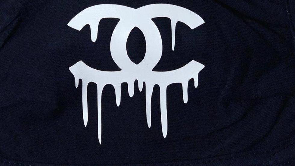 Chanel Inspired Custom Handmade Mask