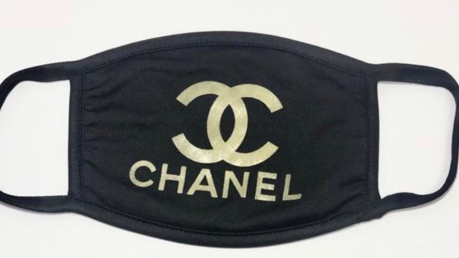 Chanel Inspired Custom Handmade Mask