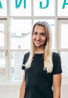 Melina Magulas pesonlig trener og Performance coach på Magnat Center