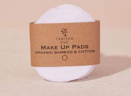 New Product! Tabitha Eve Organic Bamboo & Cotton Makeup Pads