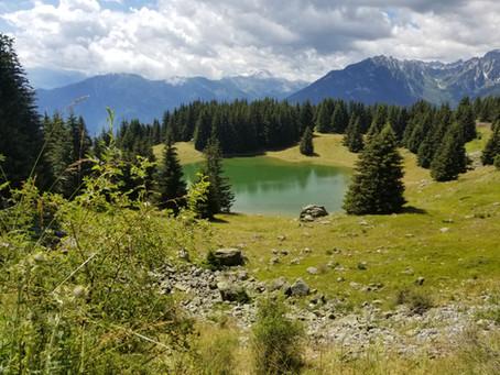 Dernier jour de vacances : le refuge de la Grande Léchère