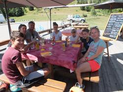 A table au Col du Chaussy