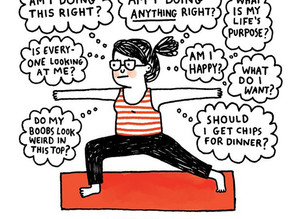 Why you don't need to be flexible to do yoga