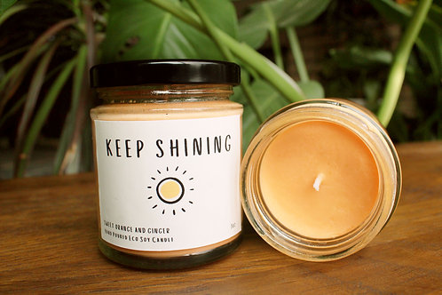 Keep Shining Scented Candle
