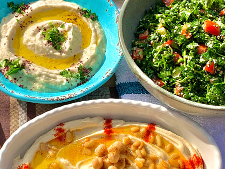 How to Make Mutabal - a Delicious and Healthy Eggplant Middle Eastern Dish