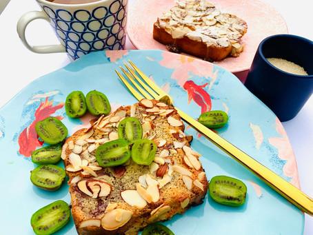 Crunchy Almond Jam Brioche