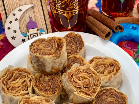 Easy Recipe for Yummy Homemade Walnut Baklava Rolls