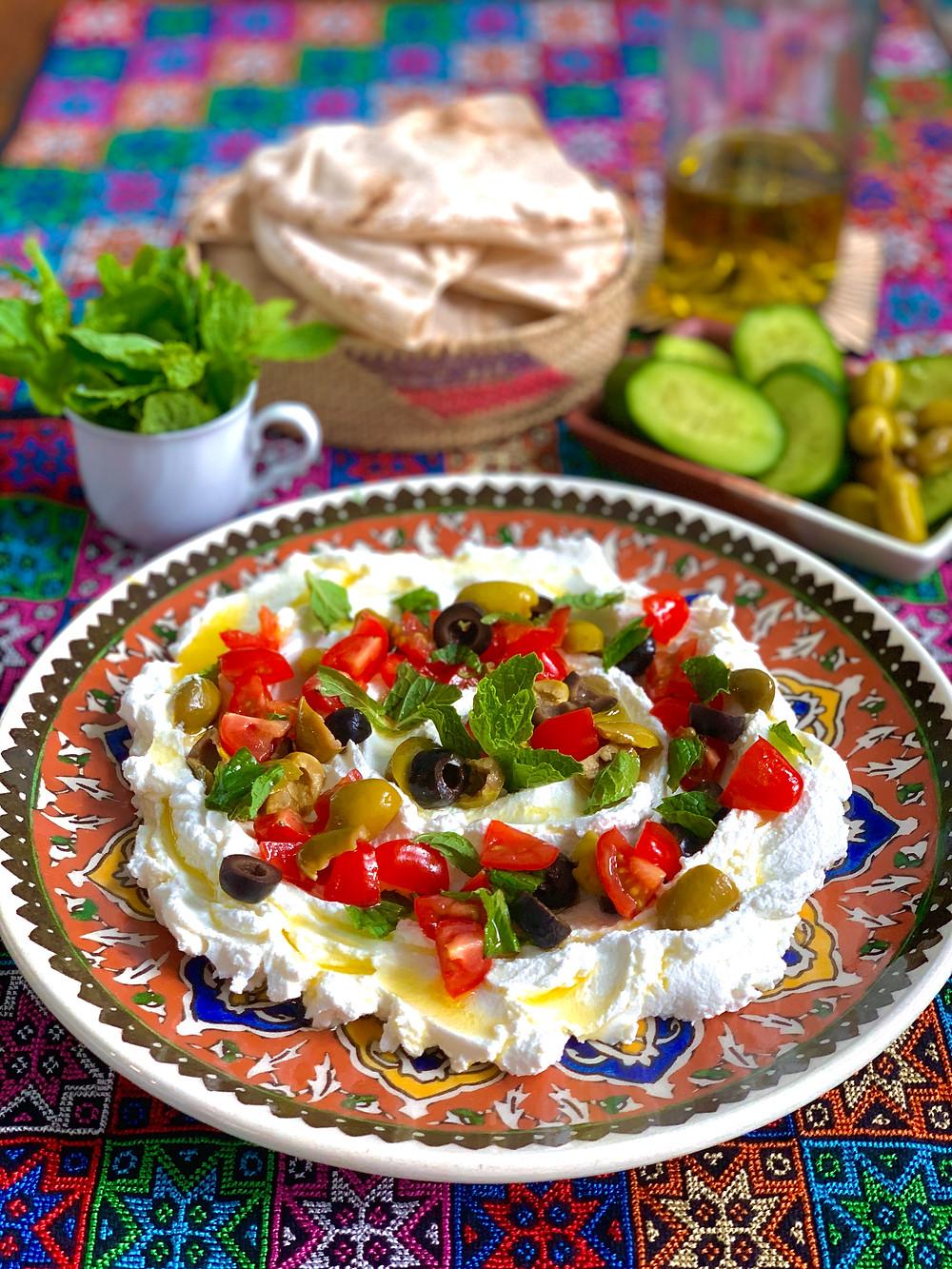 Creamy Homemade Labneh