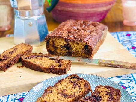 Banana Nutella Bread Recipe