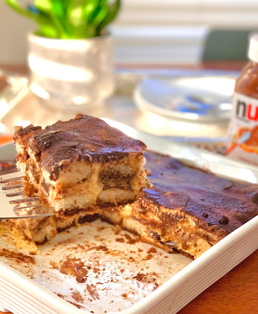 Nutella Tiramisu, a Slight Twist to the Classic Italian Dessert