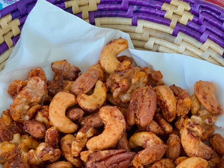 Pizza Flavored Roasted Nuts