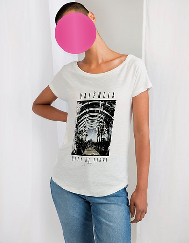 Women's CITY OF LIGHT Organic Vintage TEE