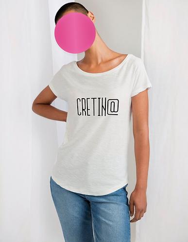 Women's CRETIN@  Organic Vintage TEE