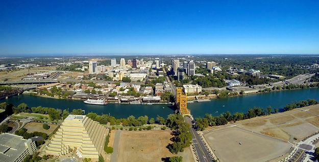 Sacramento Downtown Aerial Photo