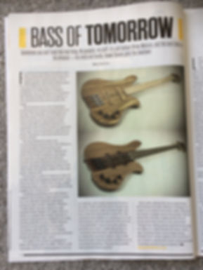 Bass guitar magazine - Bass of tomorrow