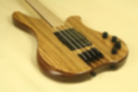 The latest model - Supremacy. Hand made bass guitars UK