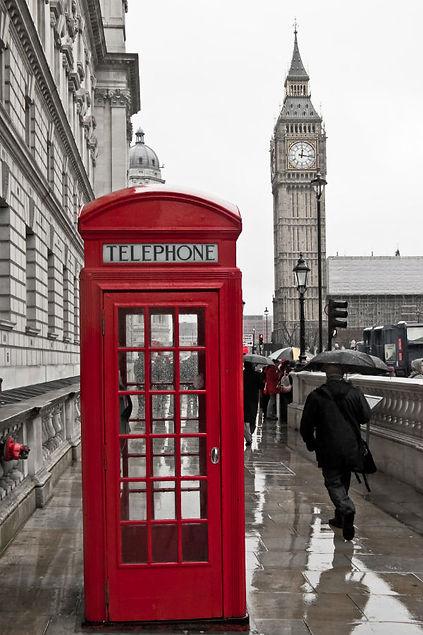london phone box tour walking