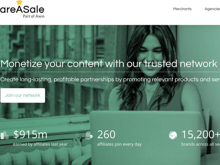 ShareASale Review for Affiliates 2021: network benefits and how to get started
