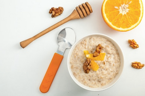 Ayurveda Inspired Orange + Cinnamon Porridge