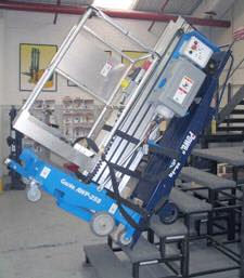 Stair Climber and Rigging