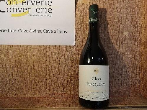Côtes du Marmandais - Clos Bacquey - Elian Da Ros  2015