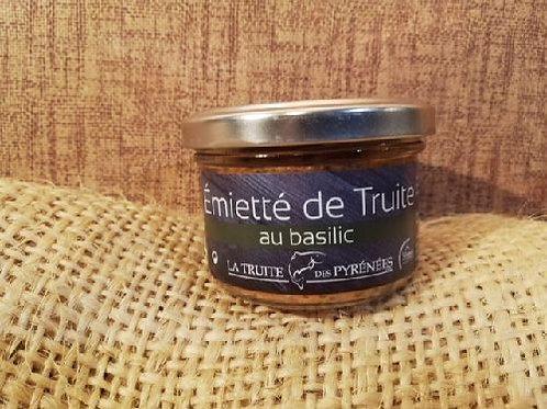 Emietté de Truite des Pyrénées au Basilic