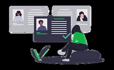 Employeur recrute un cadre à temps partiel