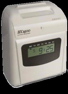 Amano BX1600 Timeclock