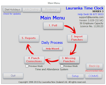 Lauranka Attendance Software