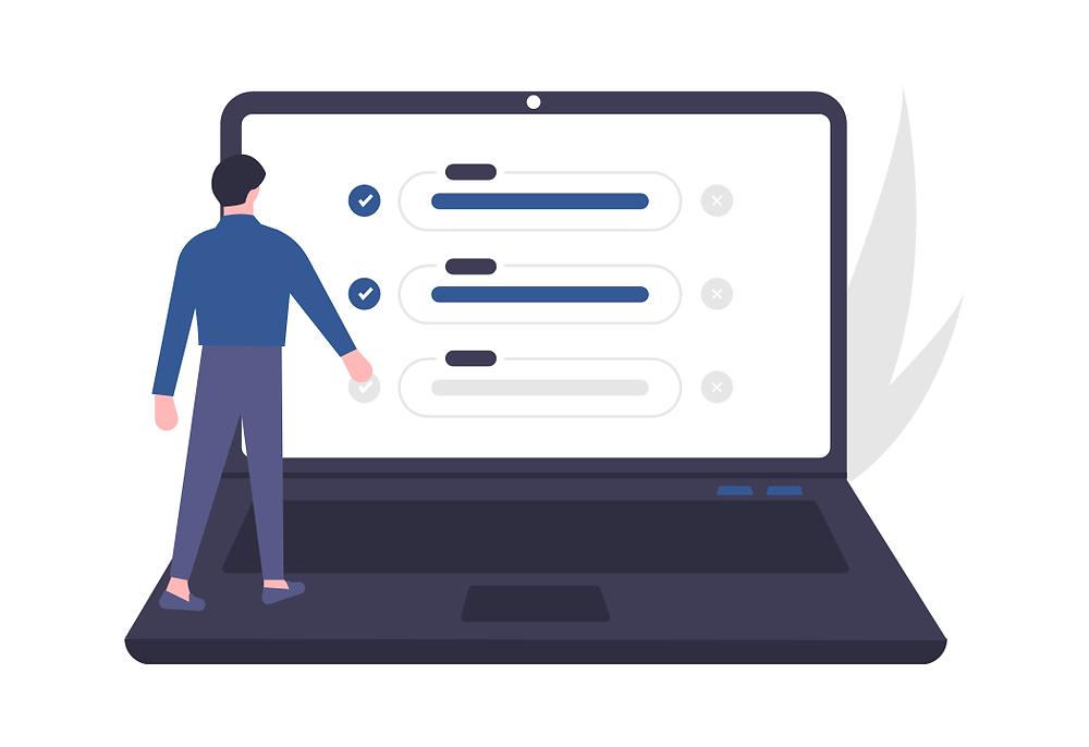 Un cadre crée un profil sur Part-Life pour travailler à temps partiel
