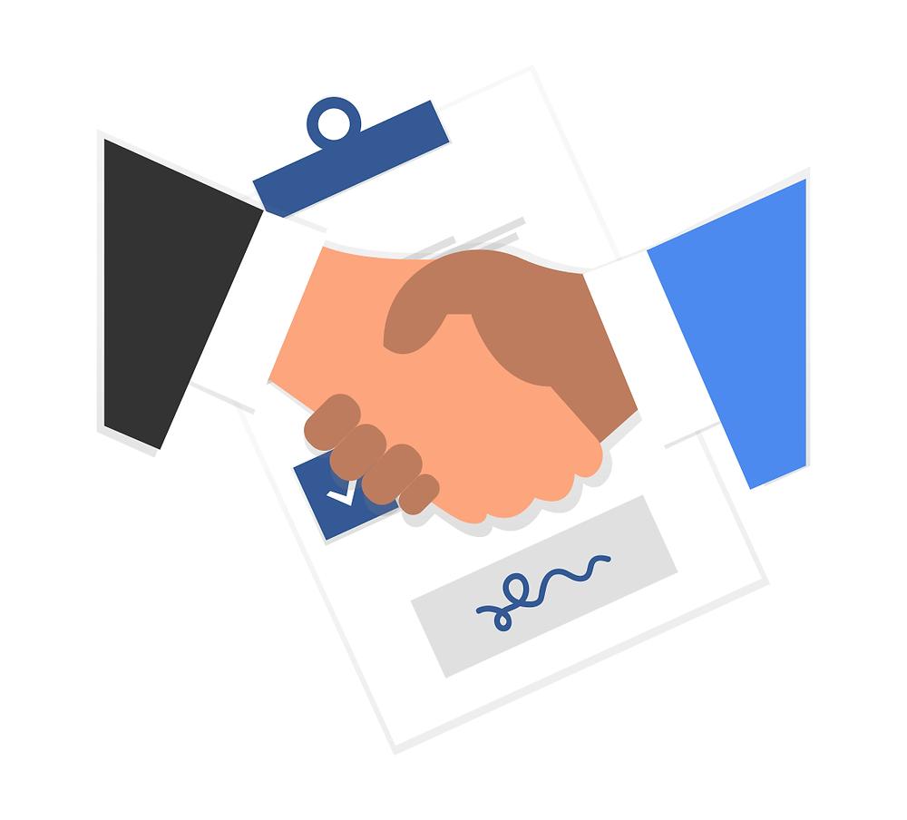 Contrat signé entre Employeur et salarié cadre