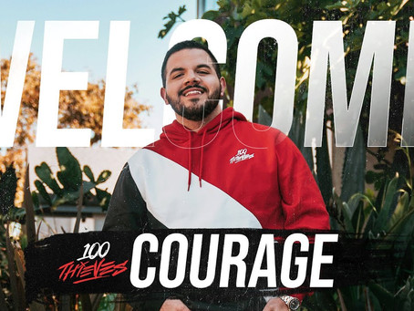 CouRageJD Officially Joins 100 Thieves As The Third Content Creator