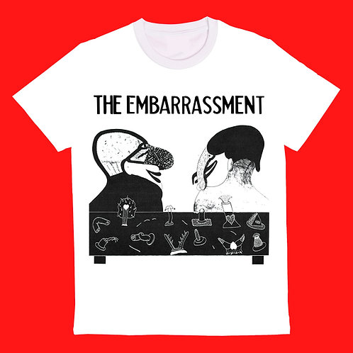 The Embarrassment T Shirt - White