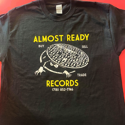 Almost Ready Records Sewer Monster Shirt