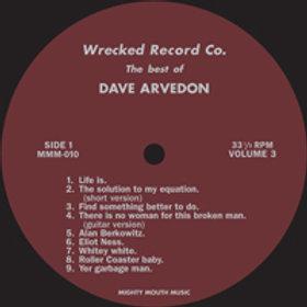 David Arvedon - Best Of Dave Arvedon Vol 3 LP